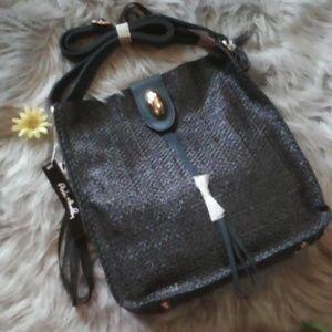 Pink Haley Shoulder/Crossbody Bag